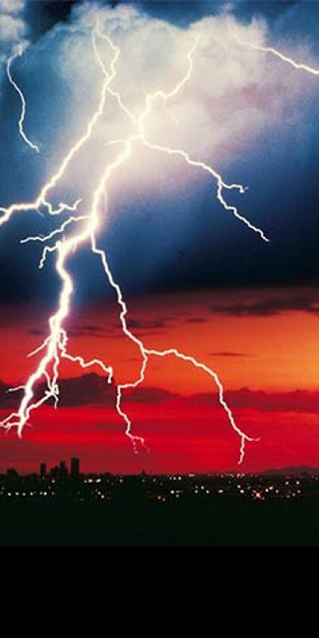 Earthing is the most important factor to lightning and surge protection
